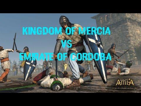 Total War - Age of Charlemagne - Kingdom of Mercia vs Emirate of Cordoba