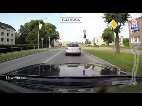 Latvia, Eleja - Highway (Šoseja) [P103] - Rīga, 104 km. 5 Jul 2012