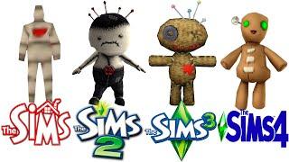♦ Sims1 vs Sims2 vs Sims 3 vs Sims 4: VooDoo Doll
