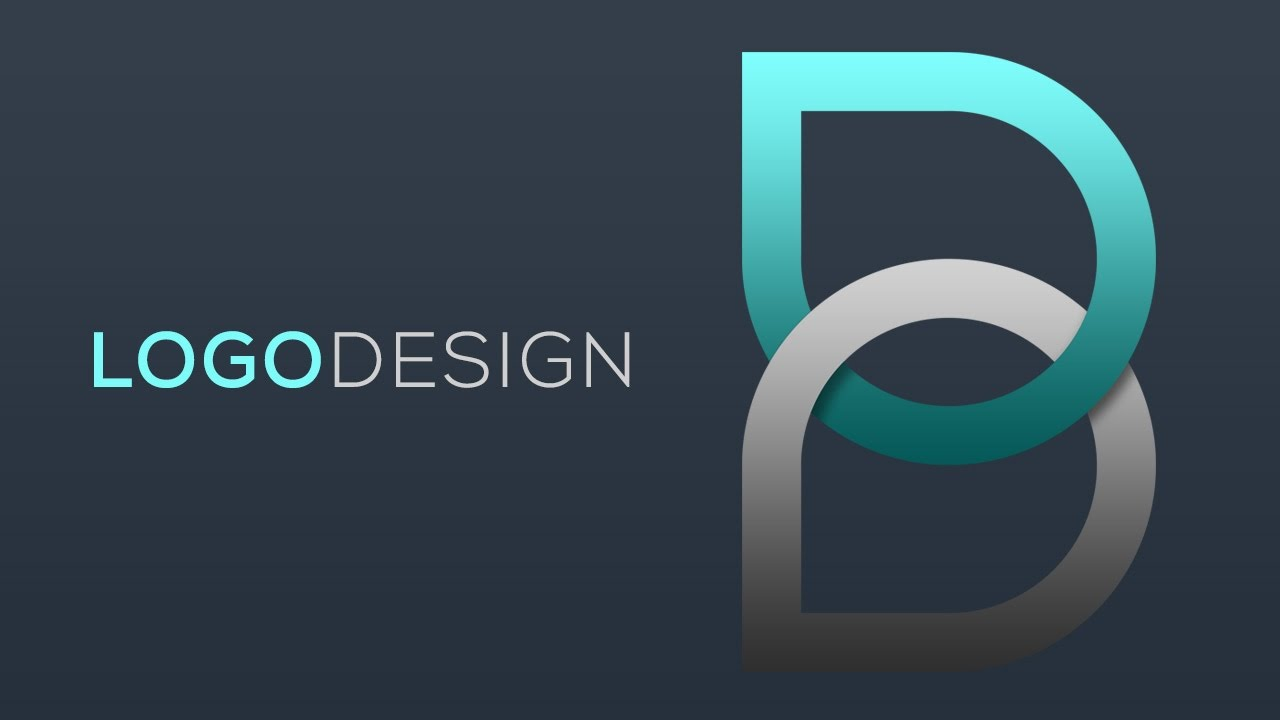 B Logo alphabet b : photoshop logo tutorials with free source file 06 - youtube