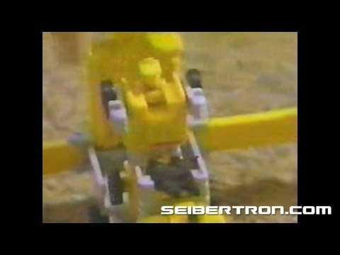 Transformers G1 Micromasters Transports commercial 1989