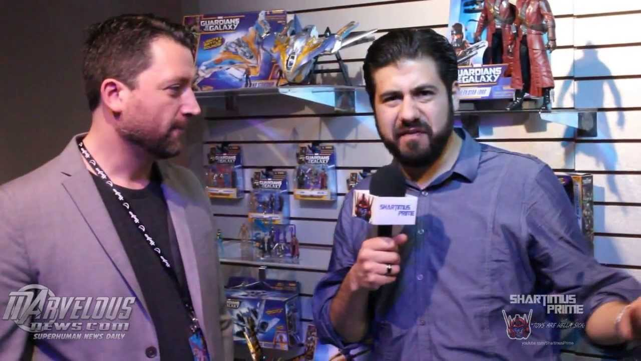Jesse Falcon Marvel Legends Creator Jesse Falcon Interview at 2014 New York Toy
