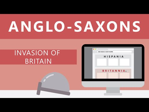 Anglo-Saxons: Invasion of Britain | History of England