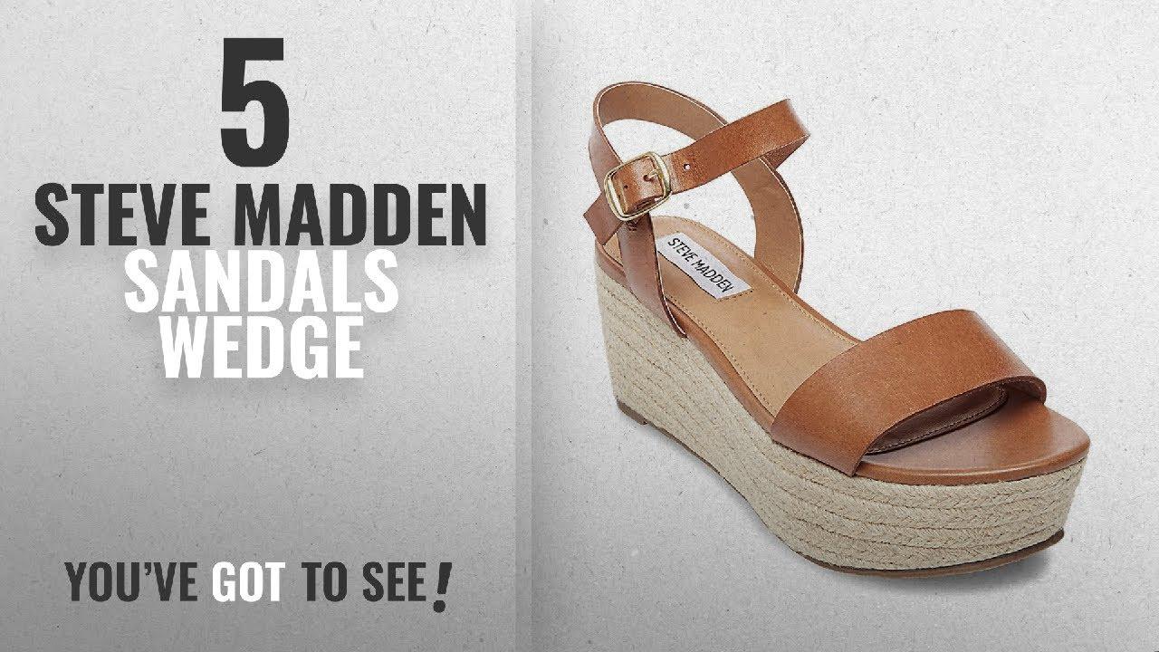 913b0afd25a Top 5 Steve Madden Sandals Wedge  2018   Steve Madden Women s Busy Wedge  Sandal