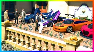 BECOMING A MILLIONAIRE IN GTA ONLINE - LAST DAY OF GTA 5 DLC, PREPARING FOR NEW CONTENT & MORE!