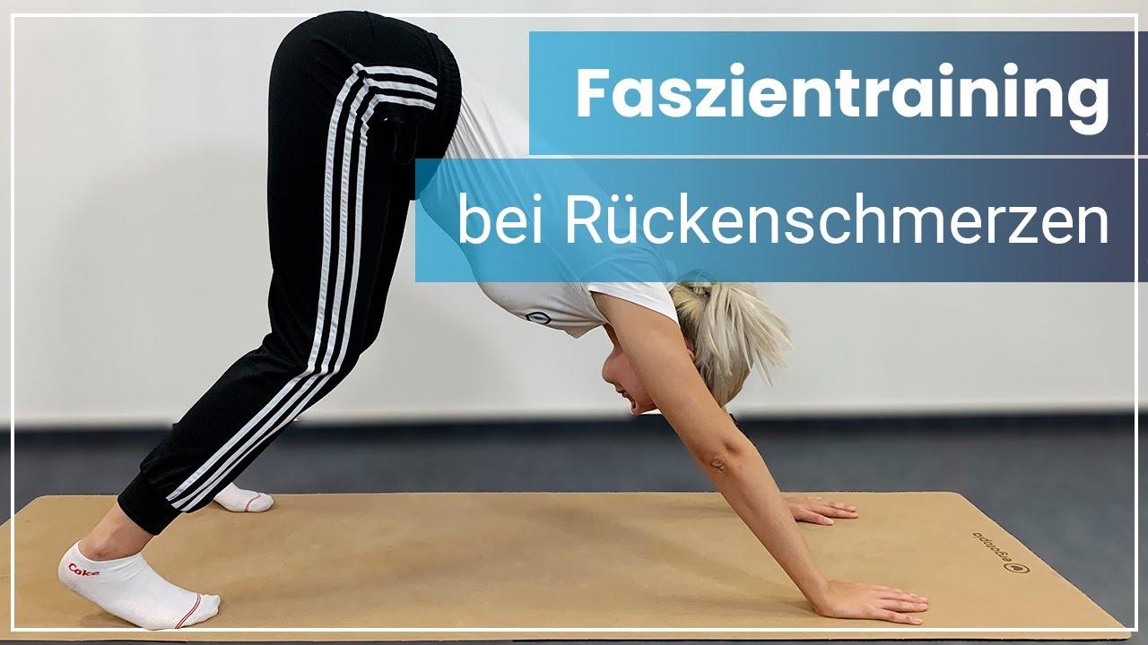 Faszienübungen für Deinen Rücken ➡️ Reduziere Verspannungen & Rückenschmerzen!