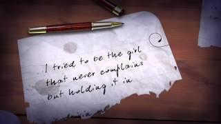 candice glover cried lyric video