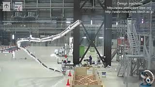 20m 超ロングロボットアーム   バルコニー本体付きジャコメッティアーム
