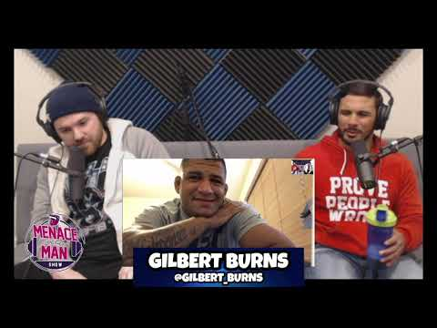 Gilbert Burns on Demian Maia fight, training w/ Kamaru Usman & competing at NY Combat Championships