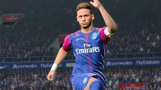 PSG vs St Etienne 5-1 (Neymar Scored 3 Goals) 2017 Gameplay