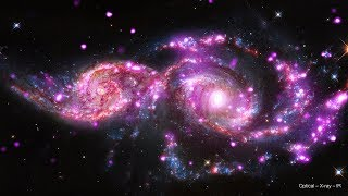 NGC 2207: Colliding Galaxies [Ultra HD]