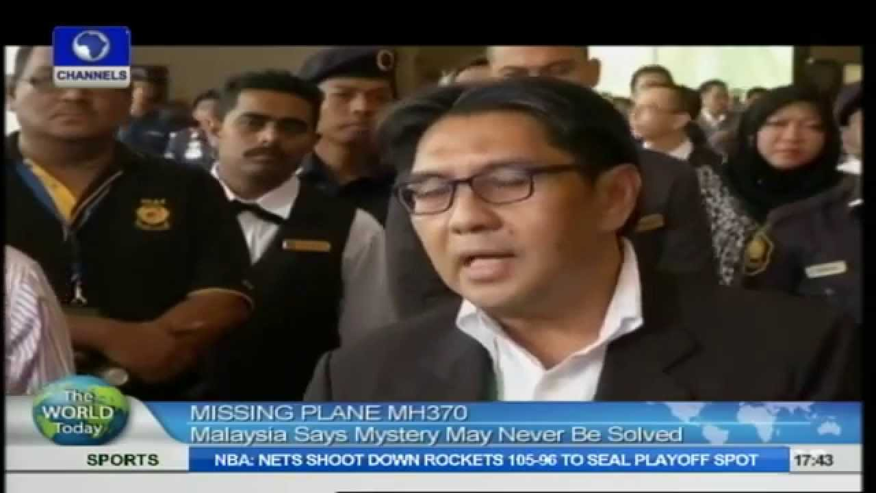 Flight MH370 – Channels Television