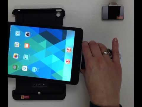 PKard Reader case & plug-in iPad & iPhone CAC & PIV card secure mobility