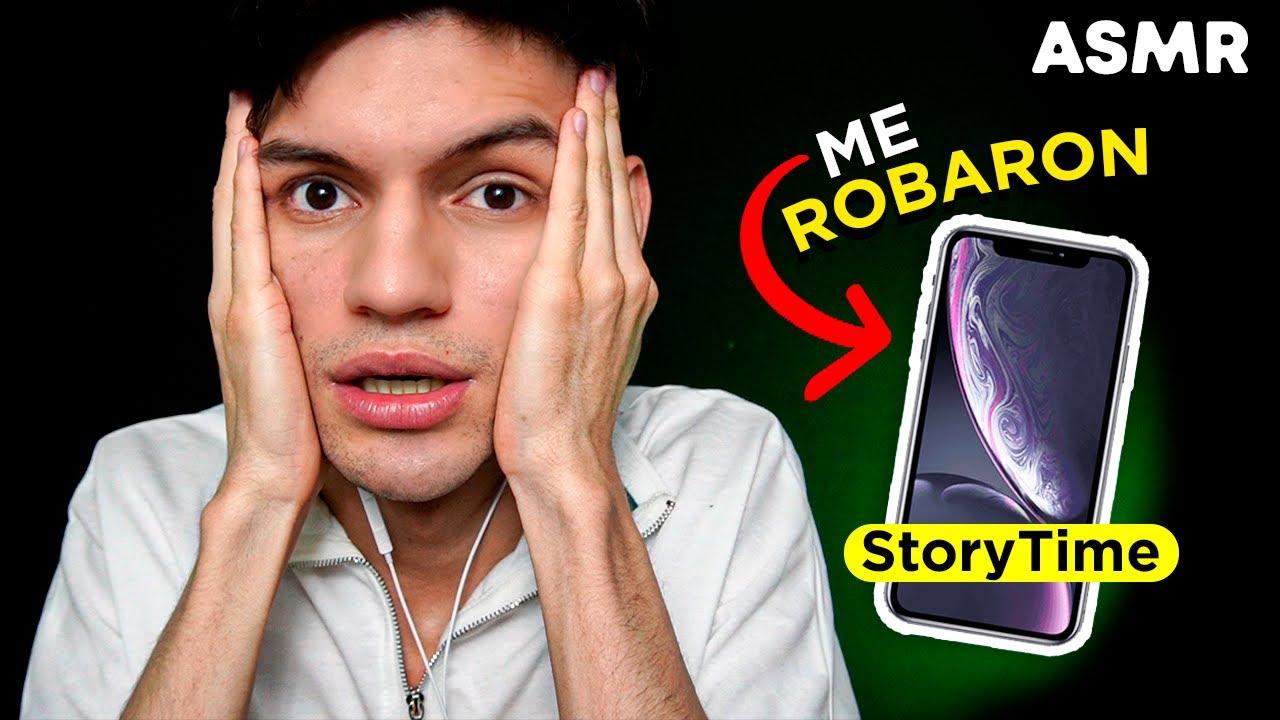 ASMR StoryTime: Me Robar0n mi iPhone - Susurros para DORMIR - ASMR español - Mol ASMR
