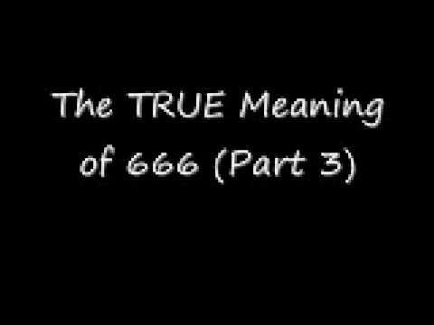 Bedeutung Von 666
