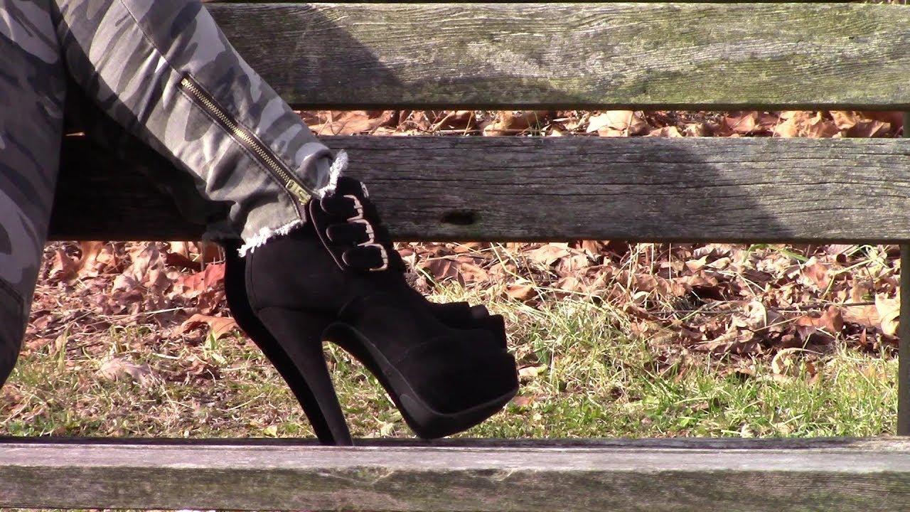 outdoors High heels
