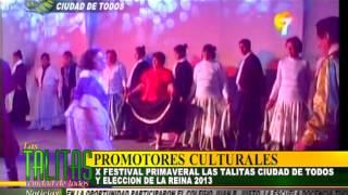 PROMOTORES CULTURALES  10° FESTIVAL PRIMAVERAL LAS TALITAS CIUDAD DE TODOS SEPTIEMBRE 2013
