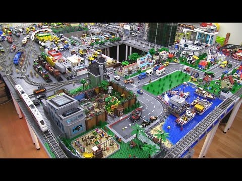Lego City Tour / Update! August 1st Giveaway at 2K likes!