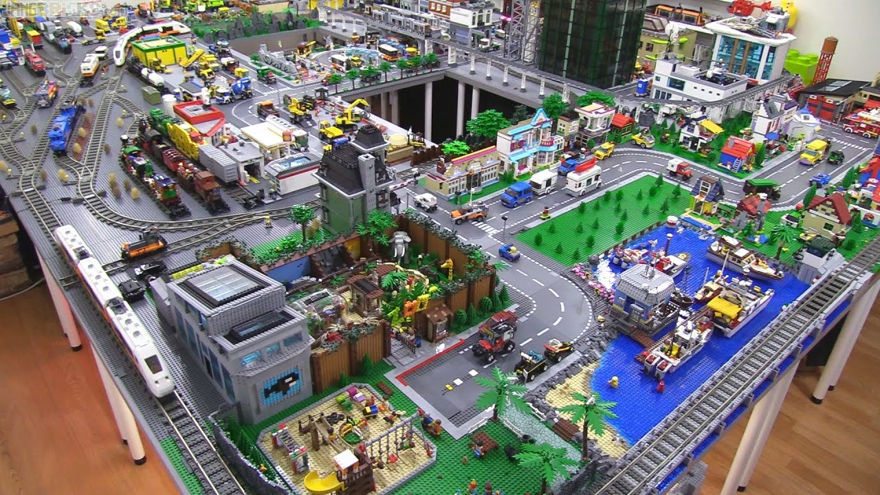 Big Lego City Changes Updates Jan 14 2017 Youtube