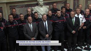 Yvelines | Incendie de Notre-Dame-de-Paris : les pompiers yvelinois honorés