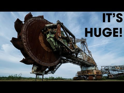 Largest Abandoned Machine in the World! - Dangerous Explorat