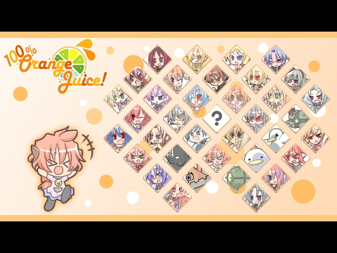 100% Orange Juice - All Character Themes (Ver. 1.17.2) Outdated