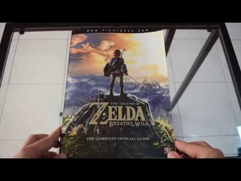"""The Legend of Zelda: Breath of the Wild"" The Complete Official Guidebook Browse Through"