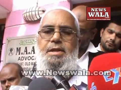 Viquar Uddin Encounter between Warangal - Hyderabad– Advocates and family members press conference