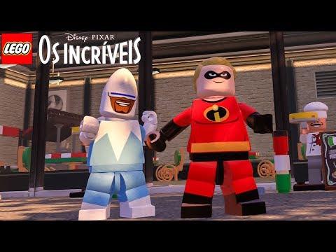 LEGO Os Incríveis (MOD) SR INCRÍVEL E GELADO GAMEPLAY no LEGO Marvel's Avengers (LEGO Vingadores)