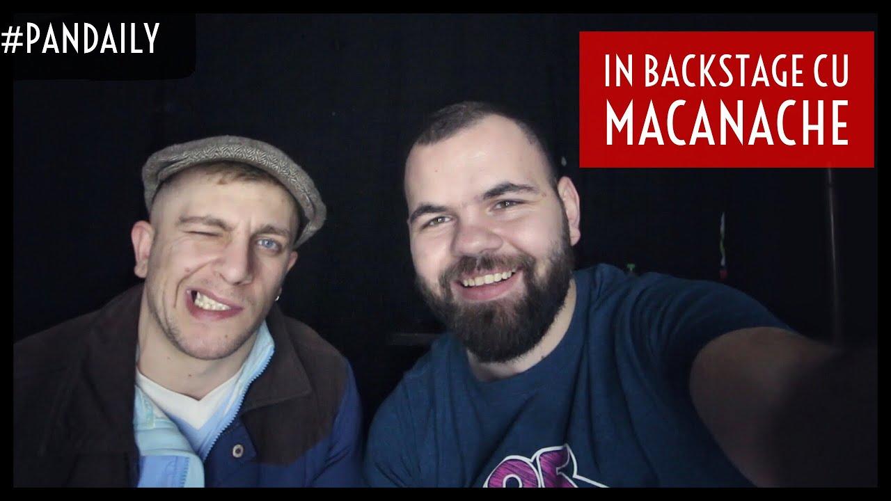 IN BACKSTAGE CU MACANACHE & THE PUTREDS