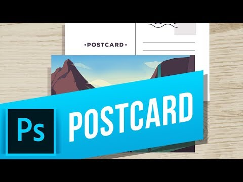 How To Create A Postcard In Photoshop