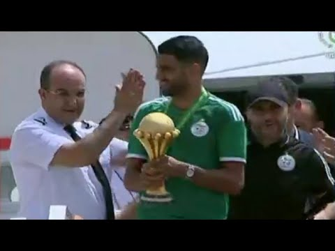 الخضر يصلون إلى الجزائر العاصمة واحتفال رسمي وشعبي بالتتويج بكأس الأمم الأفريقية  - نشر قبل 2 ساعة