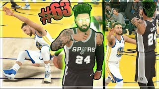 NBA 2k18 MyCAREER - DESTROYED Steph Curry's Ankles! 10x Ankles in Nail Biter vs GSW on HOF! Ep. 63