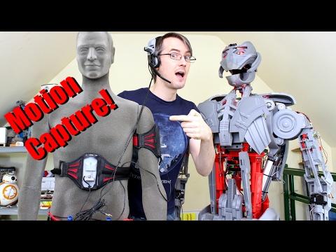 Avengers Ultron #31, Motion Capture Puppeteering | XRobots