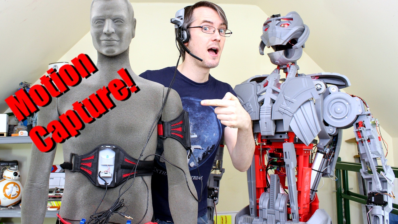 Avengers Ultron #31   Motion Capture Puppeteering   James Bruton - YouTube