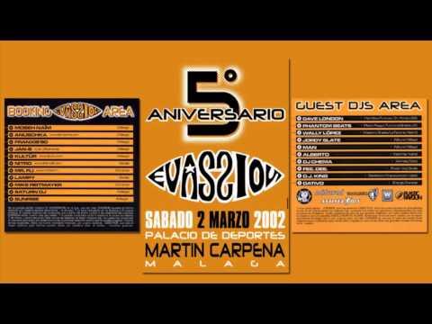 5º Aniversario Mundo Evassion - Martín Carpena (Málaga, 2-3-2002) [COMPLETO]