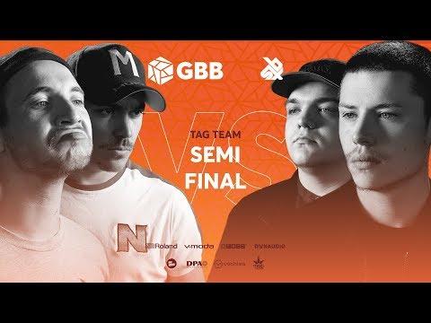 UNITEAM Vs KOTCHA |  Grand Beatbox Battle 2019 | Tag Team Semi Final