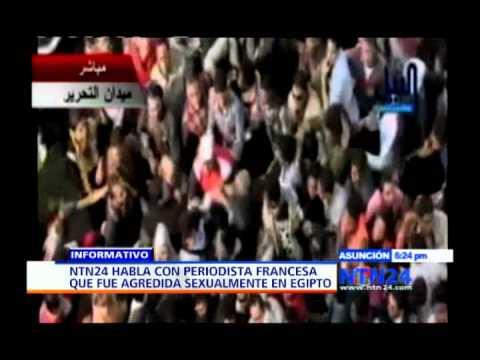 Periodista francesa agredida durante manifestación en Egipto demandará a las fuerzas de seguridad thumbnail