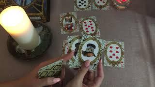 Что ждёт меня (даму черви) в ближайшее время. Гадание на игральных картах. Цыганский расклад онлайн