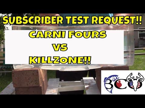 GRIM REAPER CARNI-FOUR VS NAP KILLZONE- BROADHEAD TEST SERIES PT:3