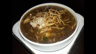 CHICKEN MANCHOW SOUP | AARTI