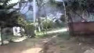 POLICIA DE COLOMBIA DEFENDIENDO AL MUNICIPIO DE TORIBIO DE LAS FARC