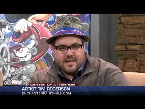 Disney Fine Artist - Tim Rogerson - On KDVR Fox Denver Good Day Nov 21, 2014