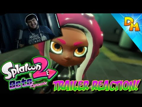 """Splatoon 2: Octo Expansion"" DLC Trailer Reaction"