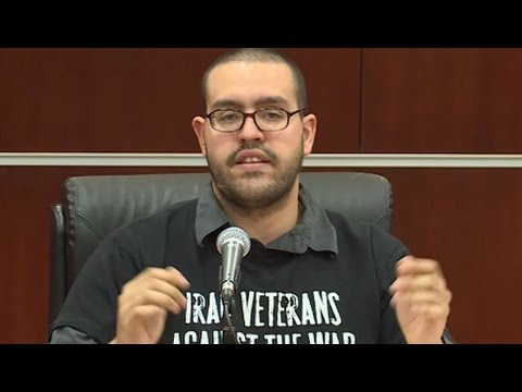The People's Tribunal on the Iraq War, Day One: Julio Torres