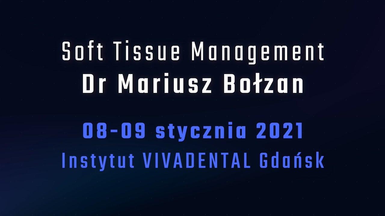 zaproszenie na szkolenie Soft Tissue Management