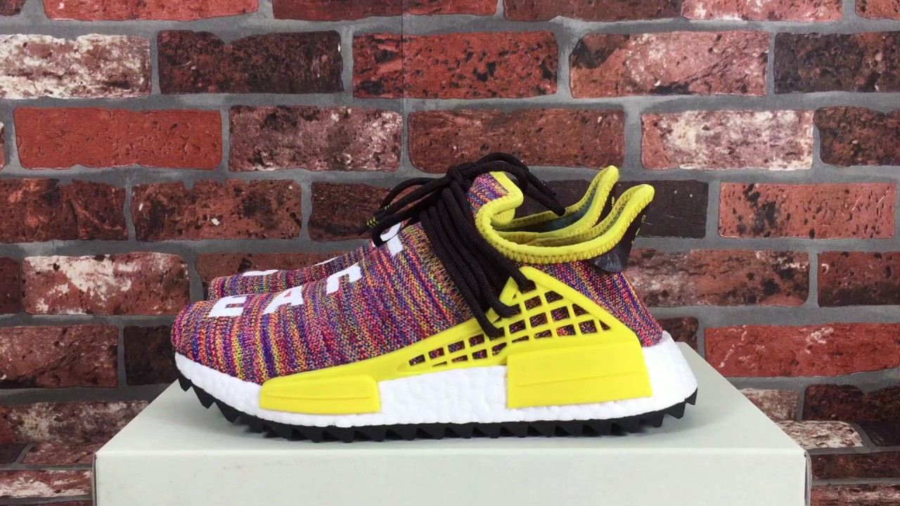 Pharrell NMD Human Race Trail Fall Winter 2017 Line Up : Sneakers