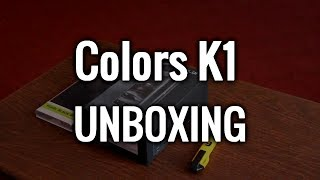 Colors K1 Unboxing Nepal