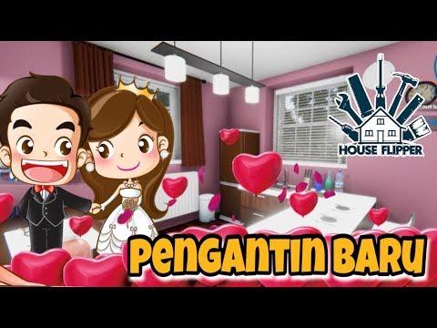 RUMAH PENGANTIN BARU  😍 - HOUSE FLIPPER INDONESIA