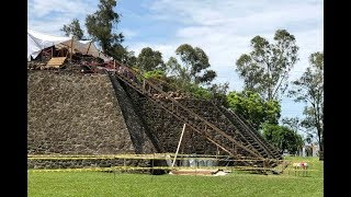 Mexico earthquake leads to discovery of ancient temple, Teopanzolco pyramid in Morelos state